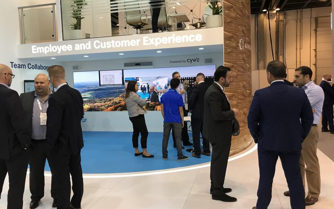 Data intelligence and insights visualized at GITEX 2018