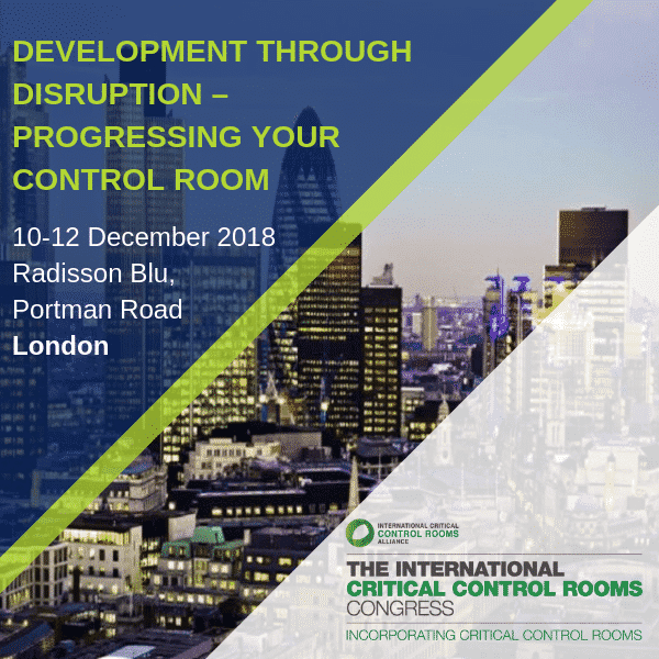 Cyviz presents the Dynamic control room at the ICCRA congress, December 10-12 in London