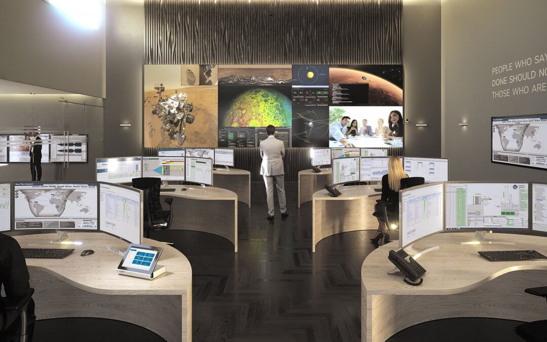 The Dynamic control room for command and control environments