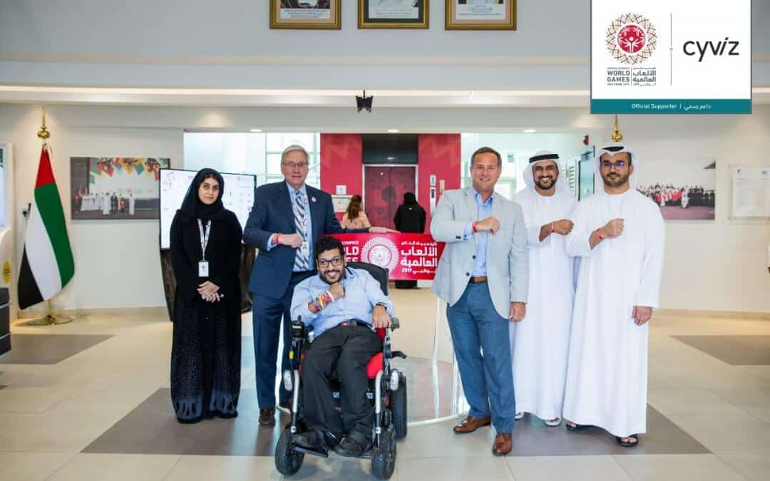 Cyviz equips the Special Olympics World Games master control room in Abu Dhabi