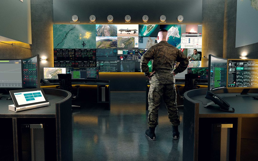 The Dynamic control room for command & control environments