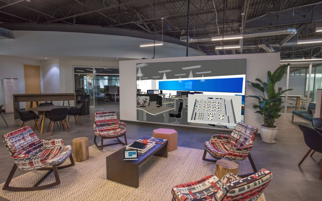 DeKalb Office deliver innovative workplaces with Cyviz technology and design-thinking