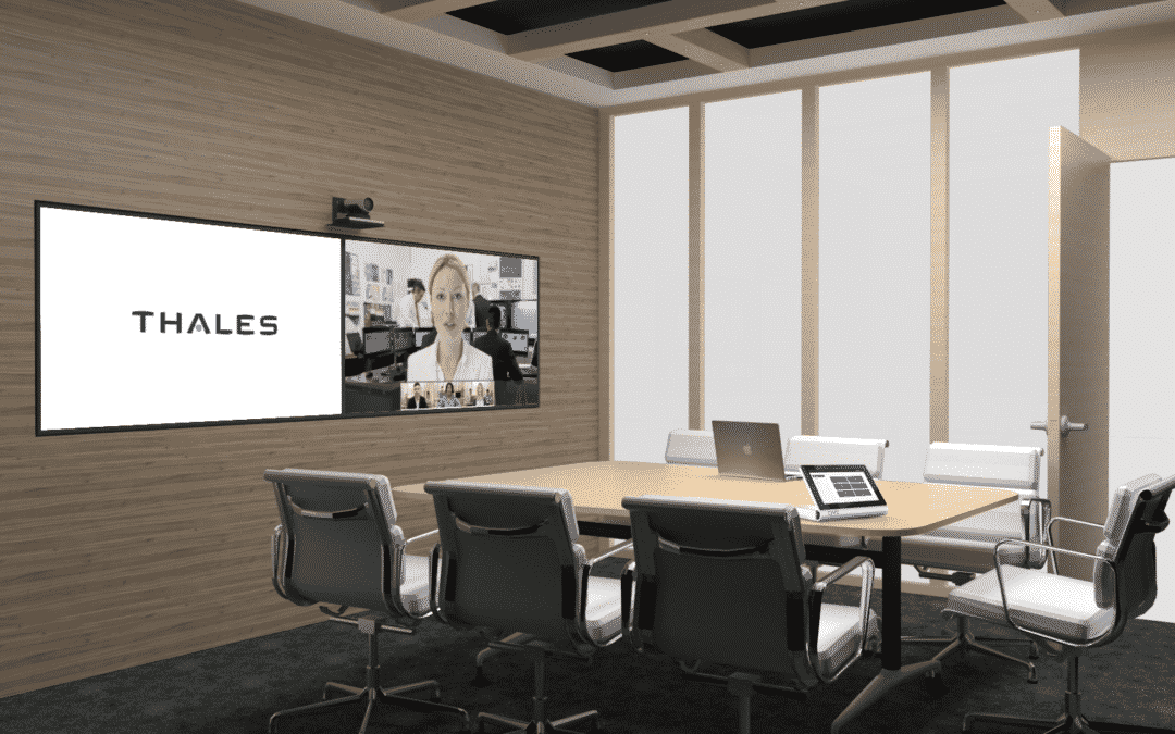 Thales UK chose Cyviz to transform its Service Desk and improve their meeting room experience